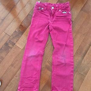 Ralph Lauren pink skinny jeans